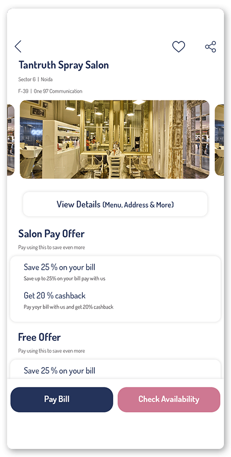 Mimadoo Mall screen
